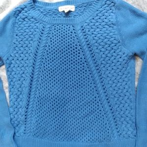 Anthropology•If it were me• multi stitch knit top